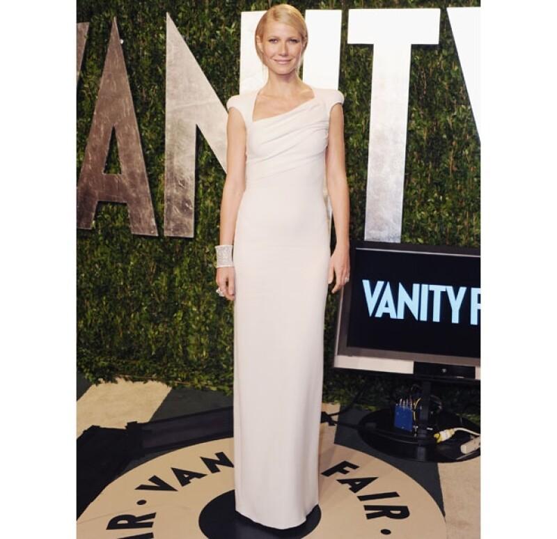La actriz ha asistido en múltiples oasiones a la fiesta que se lleva a cabo después de la entrega fde premios.