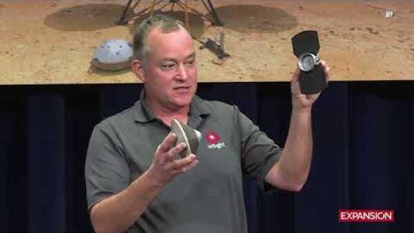 La nave robótica InSight aterriza exitosamente en Marte