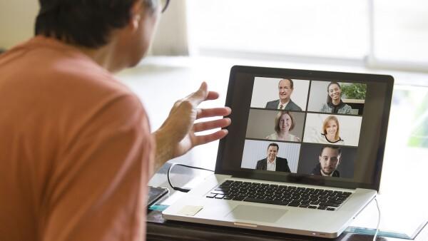 Convención virtual - videoconferencia - videollamada - junta virtual