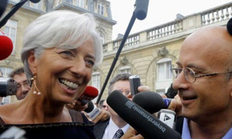 Lagarde pagó al empresario para cerrar una prolongada disputa legal contra una ex entidad bancaria estatal. (Foto: Reuters)