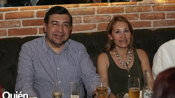 Manuel Pérez-Cárdenas y Ana Cambrero