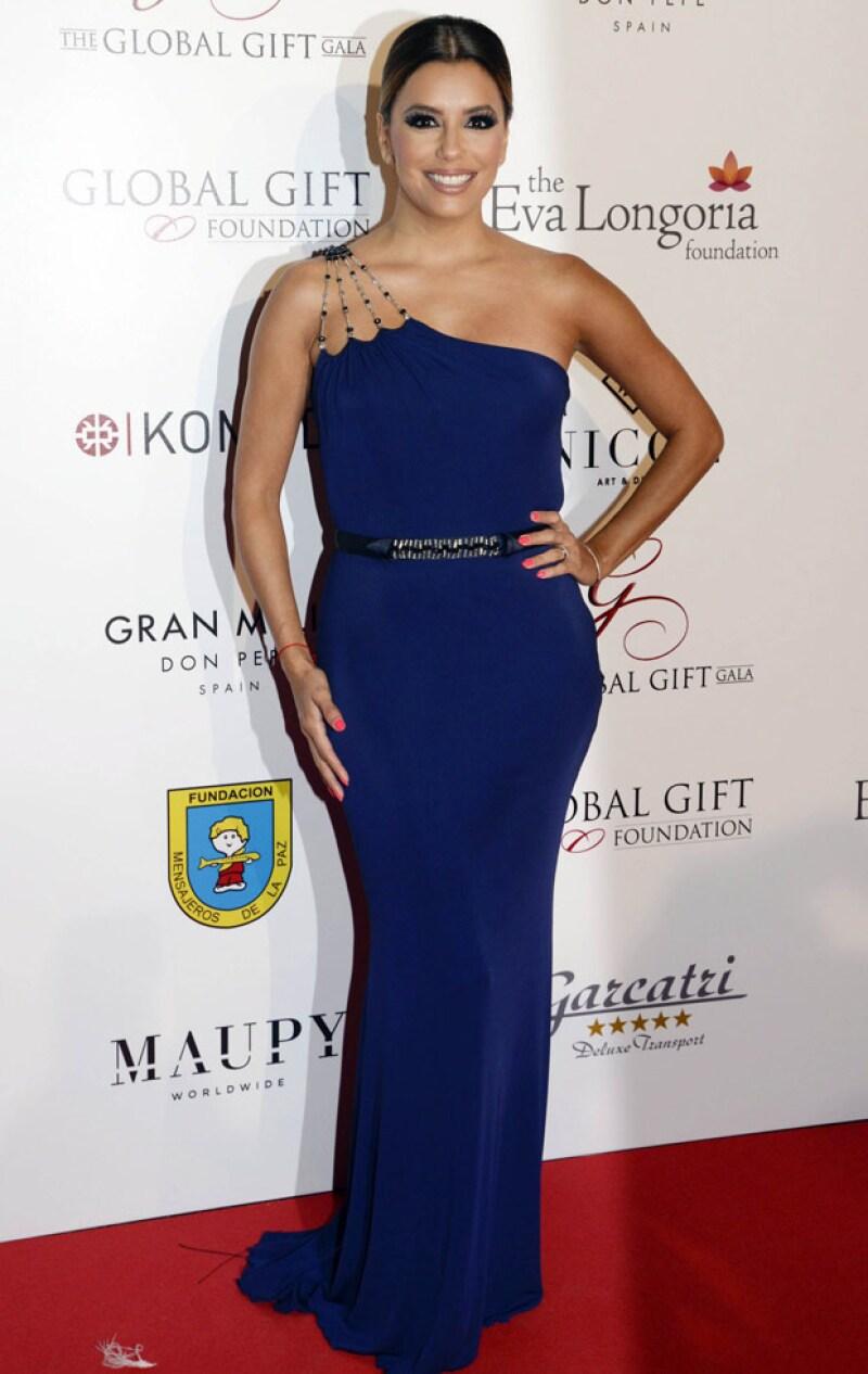 Eva Longoria en la Global Gift Gala de Marbella.