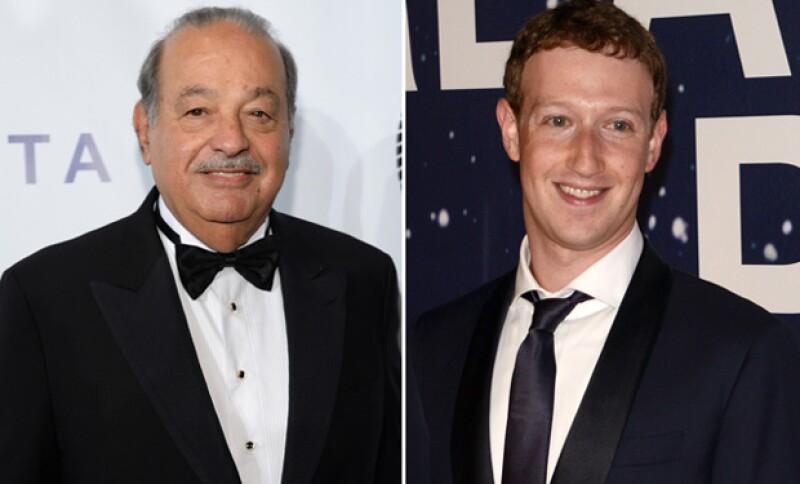 El empresario mexicano reaccionó ante el anuncio del dueño de Facebook de vender el 99% de sus acciones de la red social a lo largo de su vida.