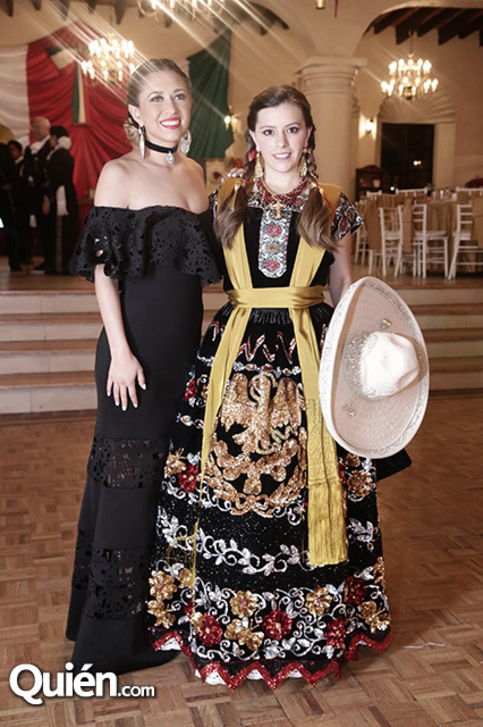 Paulina Ransanz y Andrea Franco