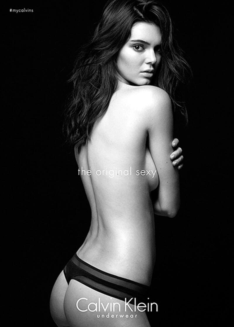 Aunque la modelo es la estrella de sus campañas de underwear, el diseñador asegura que, de seguir al frente de la compañía, no la hubiera elegido.