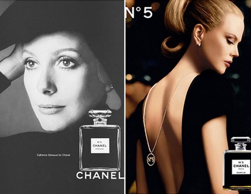 Otras caras famosas que han sido imagen de la fragancia incluyen a Catherine Deneuve y Nicole Kidman.