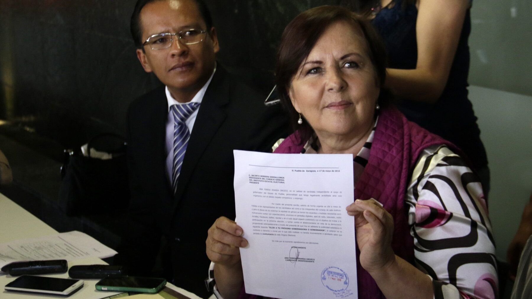 La candidata Ana Teresa Aranda rechaza fijarse plazos, pero plantea una serie de propuestas proritarias.