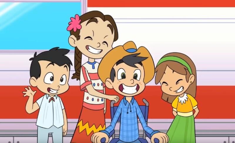 lanzan caricatura para promocionar el tren maya