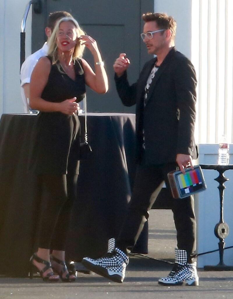 """El cumpleaños número 50 del actor de """"Iron Man"""" reunió a la élite de Hollywood en una celebración en Santa Mónica."""