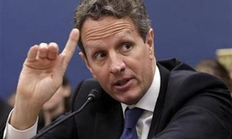 Geithner pidió un acuerdo en el Congreso de EU para aprobar el alza en el límite de deuda. (Foto: Reuters)