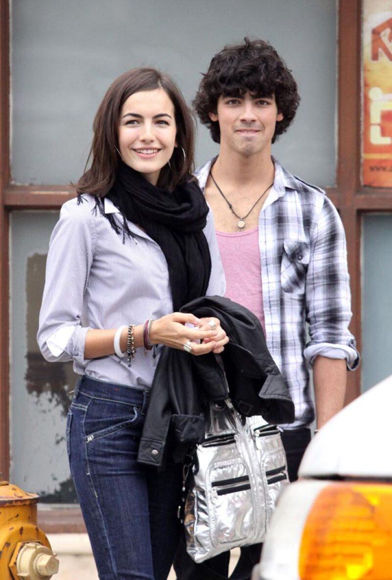 Camilla Belle y Joe Jonas en 2009.