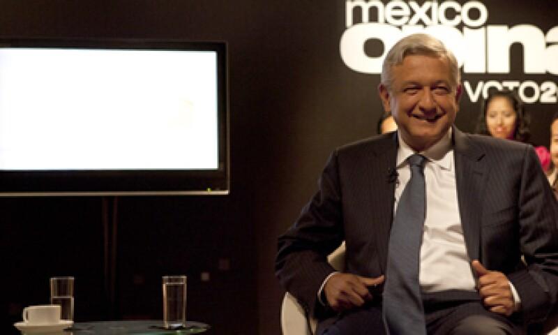 López Obrador tocó diversos temas en el Foro CNN, desde la creación de empleos, hasta la legalización de las drogas. (Foto: Grupo Expansión)