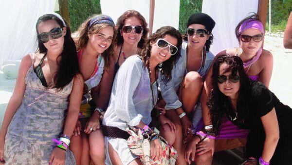 Renata Larios, Natalia Padilla, Pamela Miyar, Susana Ortiz, Patricia López, Mónica Petersen