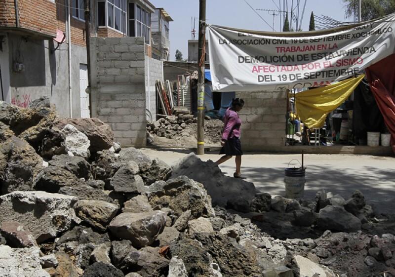 xochimilco damnificados