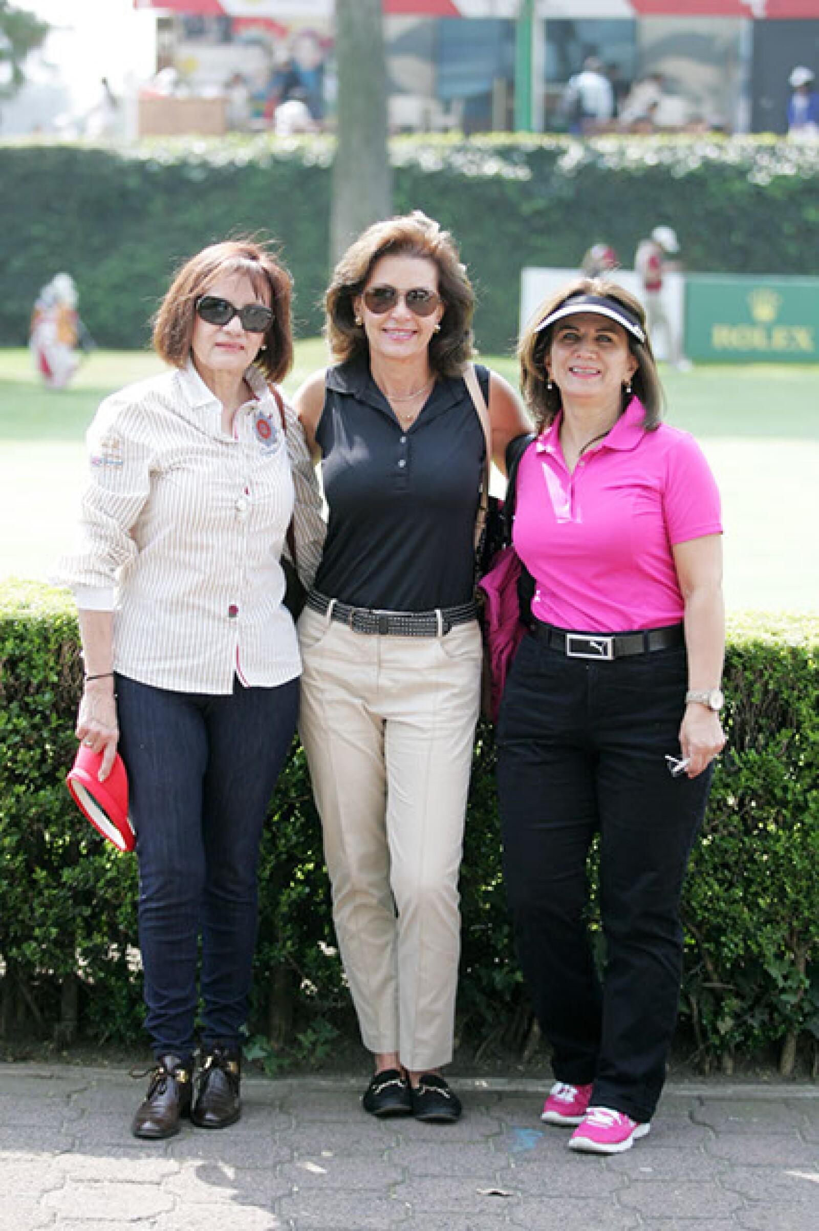 Elvia Willars,Rocío Heberlein y Sandra del Valle