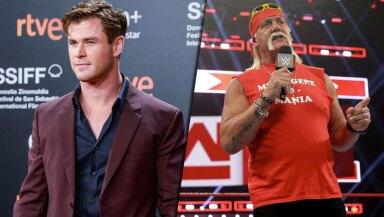 Chris Hemsworth y Hulk Hogan