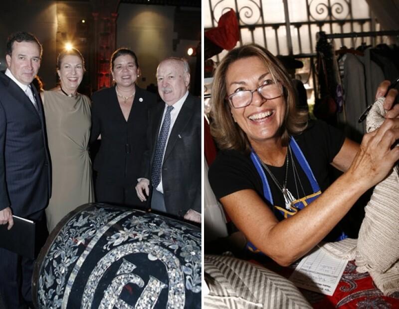 En septiembre asistió a la exposición `Herradura Arte en Barricas 2012´ y al bazar vintage del MAP.