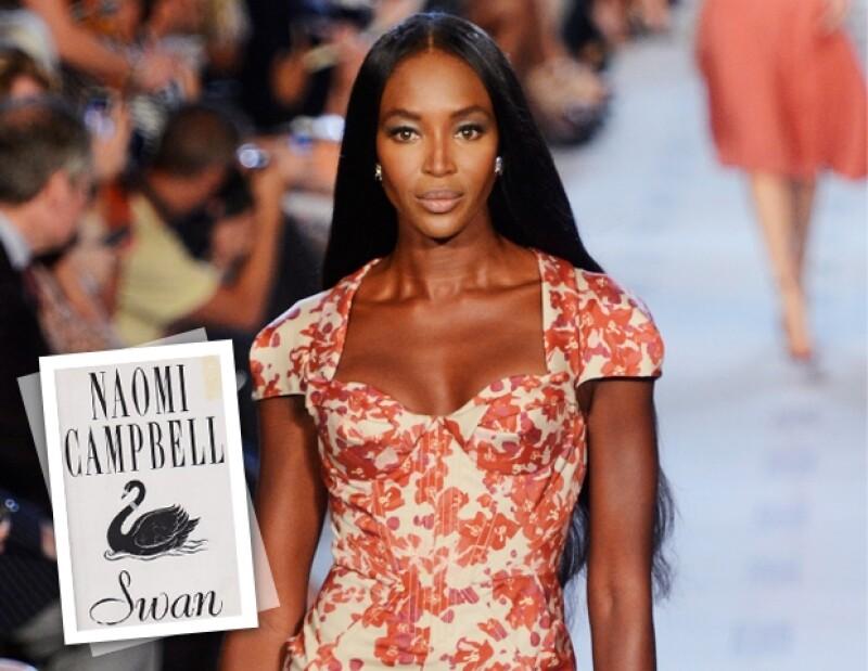 Naomi Campbell publicó `Swan´