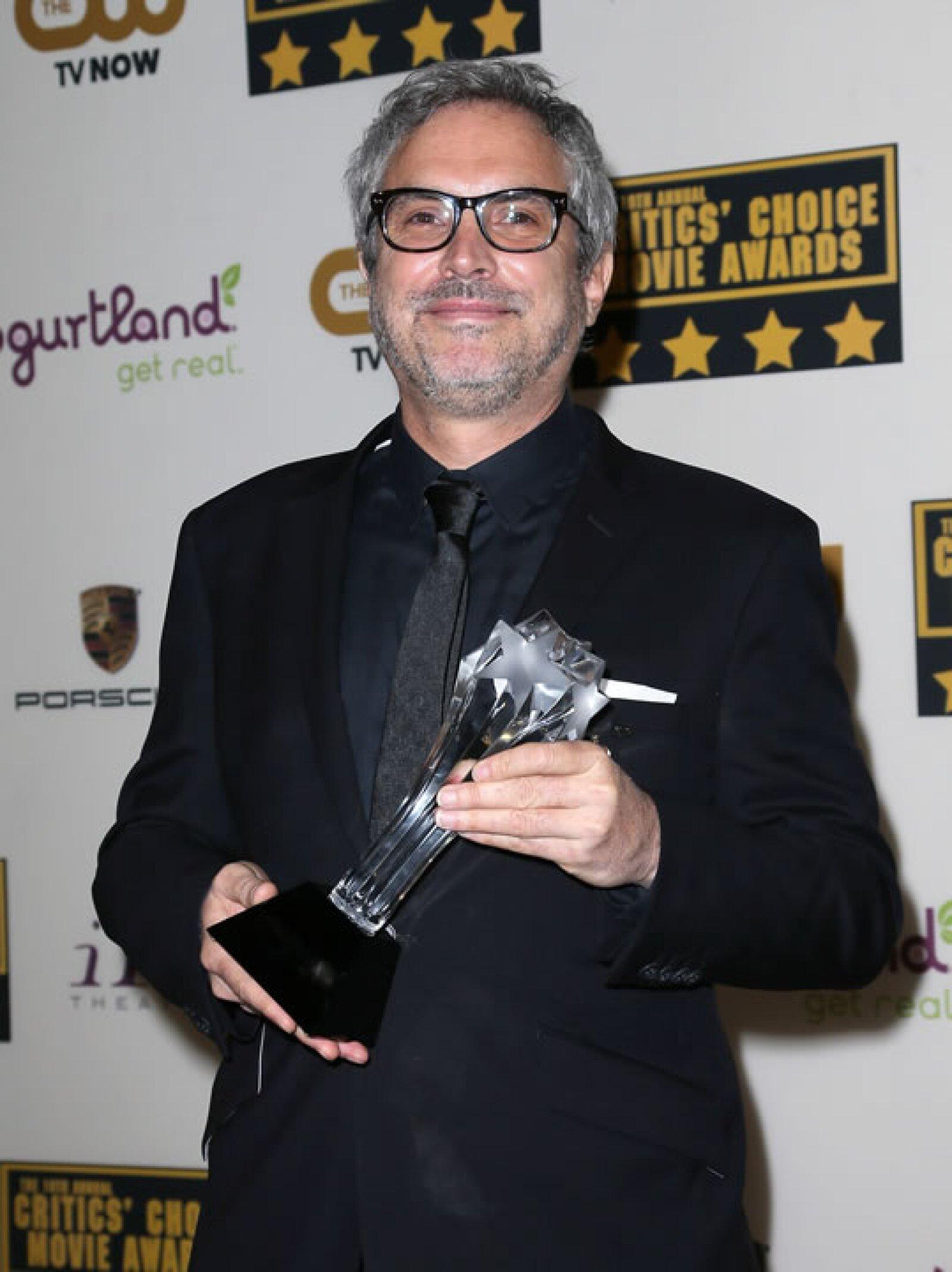 Alfonso Cuarón ganó por su trabajo de dirección en `Gravity´.