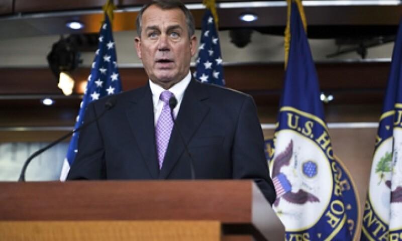 El presidente de la Cámara de Representantes y líder republicano en el Congreso, John Boehner, se rindió ante la presión demócrata. (Foto: Reuters)