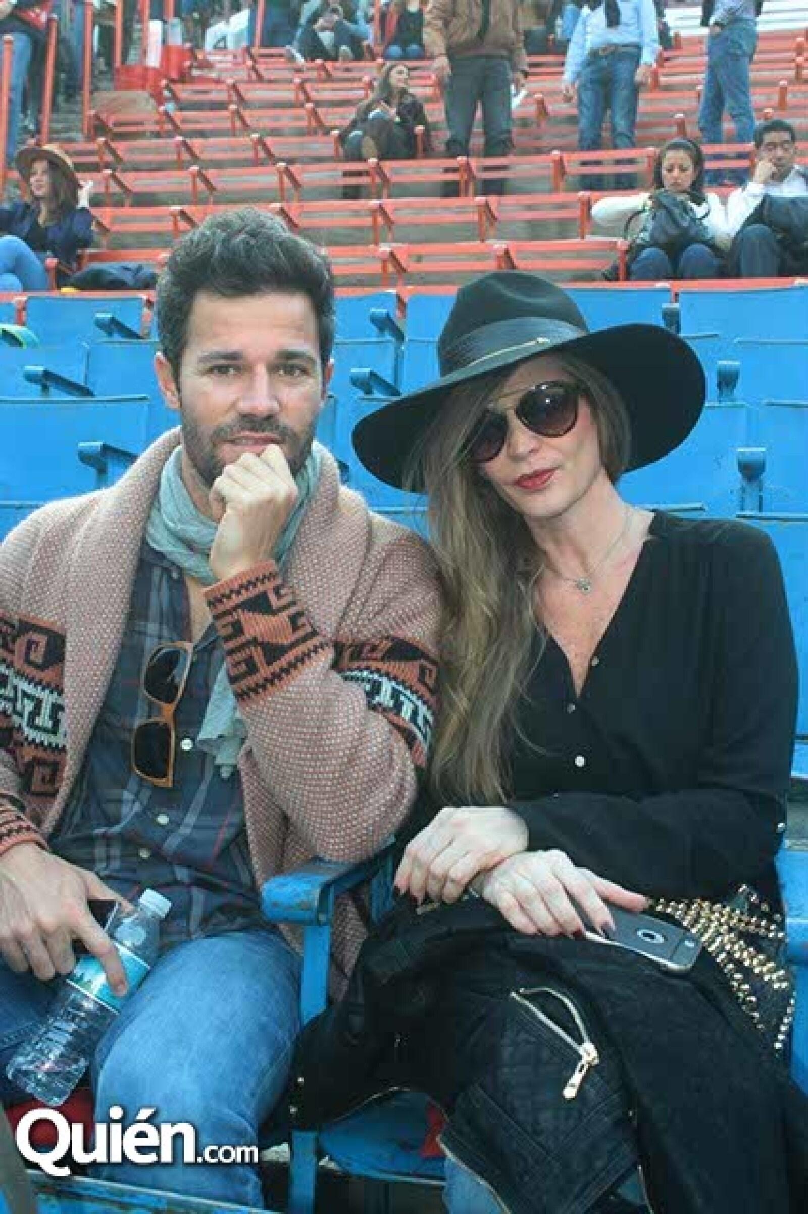 Juan Tejeda y Tatiana Mondragón