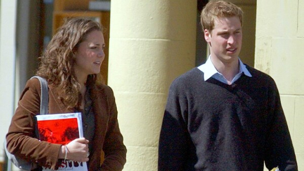 Kate Middleton y William se conocieron ocho años antes de casarse en la Universidad de St. Andrews cuando eran compañeros en la clase de Historia del Arte.