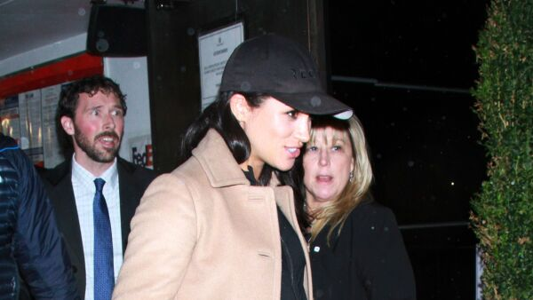 Meghan Duchess of Sussex out and about, New York, USA - 20 Feb 2019