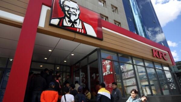 KFC comida rapida