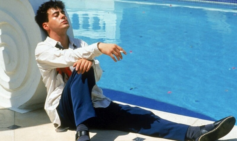 Aquí en `Less Than Zero´ a finales de lo 80.