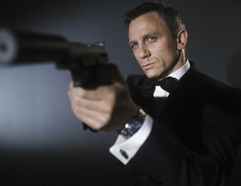 Daniel Craig como el Agente 007, James Bond