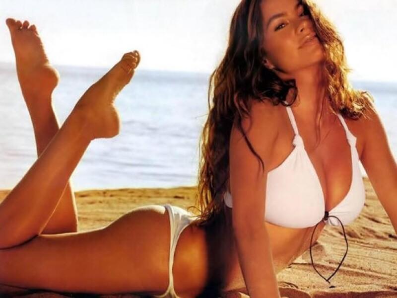 Sofía Vergara siempre fue considerada un sex symbol. Aquí en sus inicios como modelo.