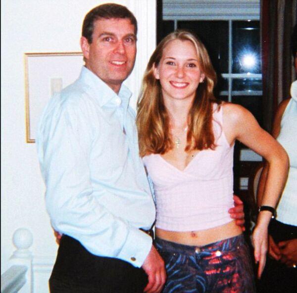 Príncipe Andrés y Virginia Roberts