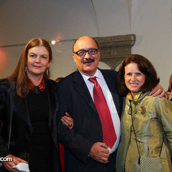 Tiahoga Ruge, Carlos Madrid y Andrée Thibodeau