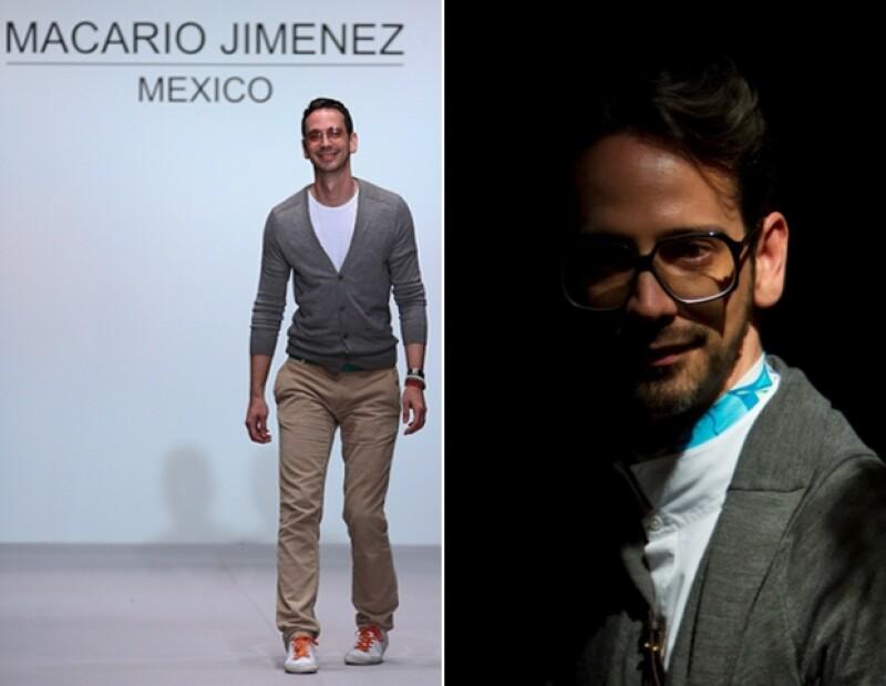 Macario es uno de los diseñadores mexicanos más existosos.