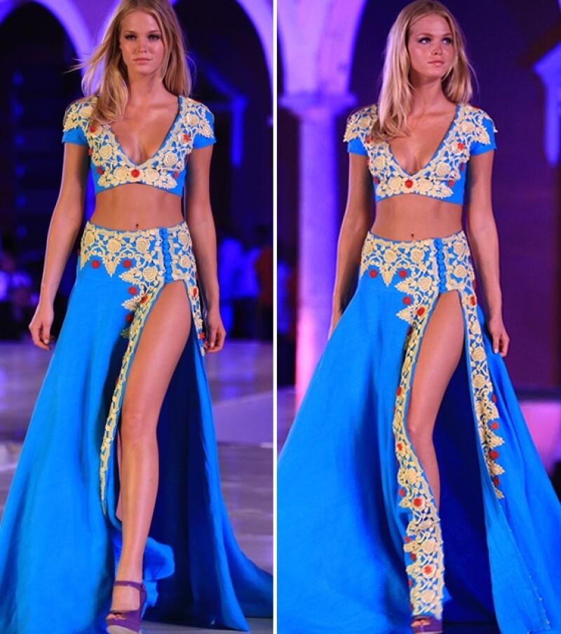 Erin fue la invitada de honor de Yucatán Moda Nextel.