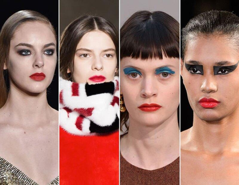 El cherry red fue propuesta de marcas como Monique Lhuillier, Tods, Céline y Saint Laurent para otoño.