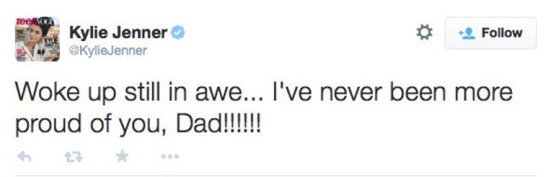 Dos días después, la menor volvió a hablar sobre su papá.