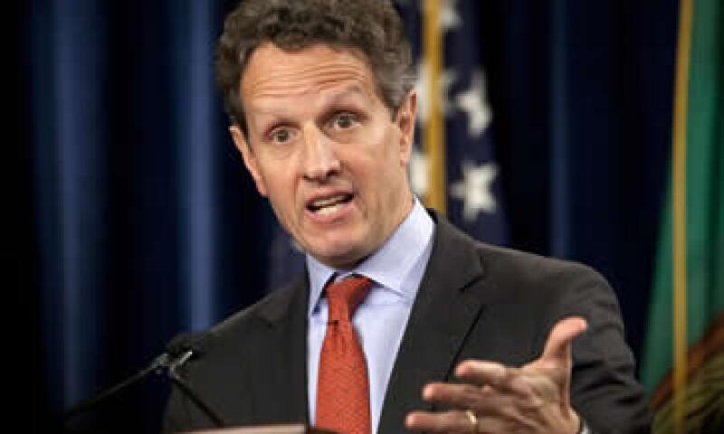 Geithner habló este miércoles en una audiencia de la Cámara de Representantes para examinar el presupuesto. (Foto: AP)
