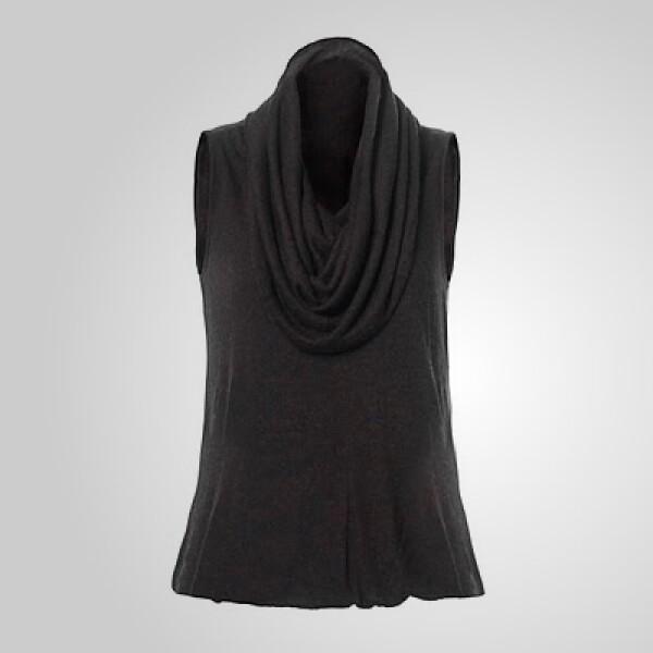 Una blusa con cuello con olanes, fabricada en algodón, puede ser el toque esencial para esa fiesta de jueves por la noche.