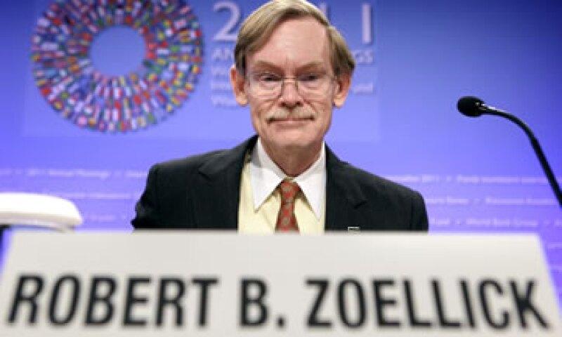 """""""Una crisis que surja en el mundo desarrollado podría convertirse en una crisis para los países en desarrollo"""", afirmó Zoellick. (Foto: Reuters)"""