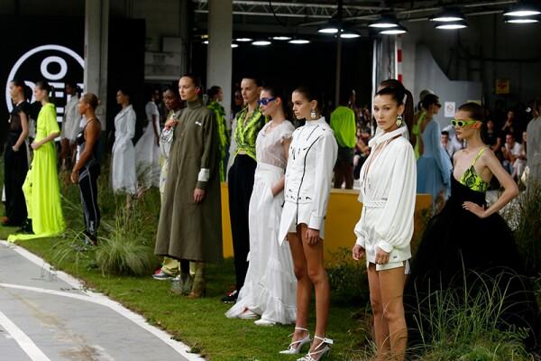 Off White show, Runway, Spring Summer 2019, Paris Fashion Week, France - 27 Sep 2018