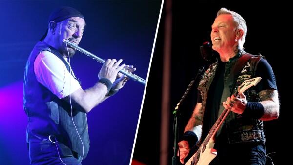 Jethro Tull y Metallica