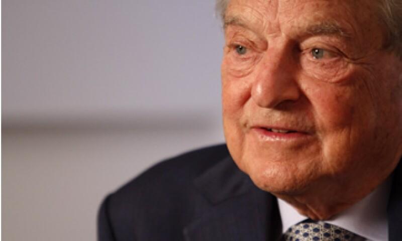 Soros se deshizo de la mayoría de sus participaciones financieras en el segundo trimestre. (Foto: AP)