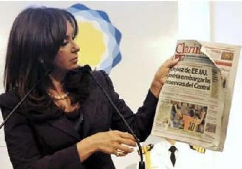 La líder de la oposición de centro izquierda dijo que la mandataria argentina puede ser sujeta a juicio político. (Foto: Reuters)