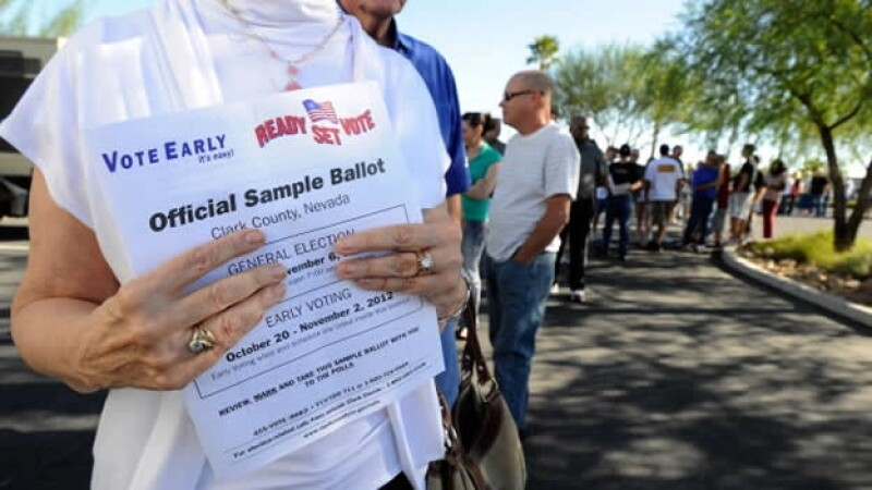 voto anticipado estados unidos nevada