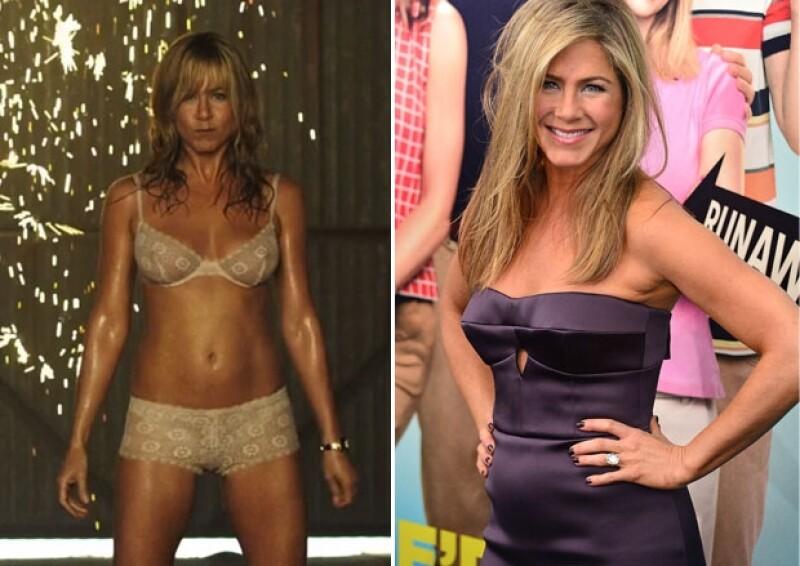 Jen personificó a una stripper en su último papel.