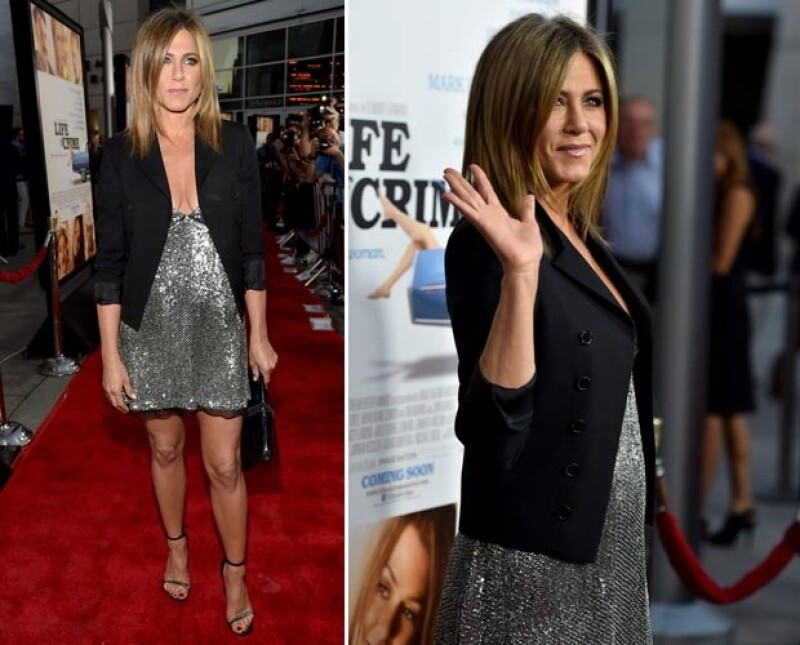 Jennifer asistió ayer por la noche en la premiere de la película en la que actúa. `Life of Crime´.