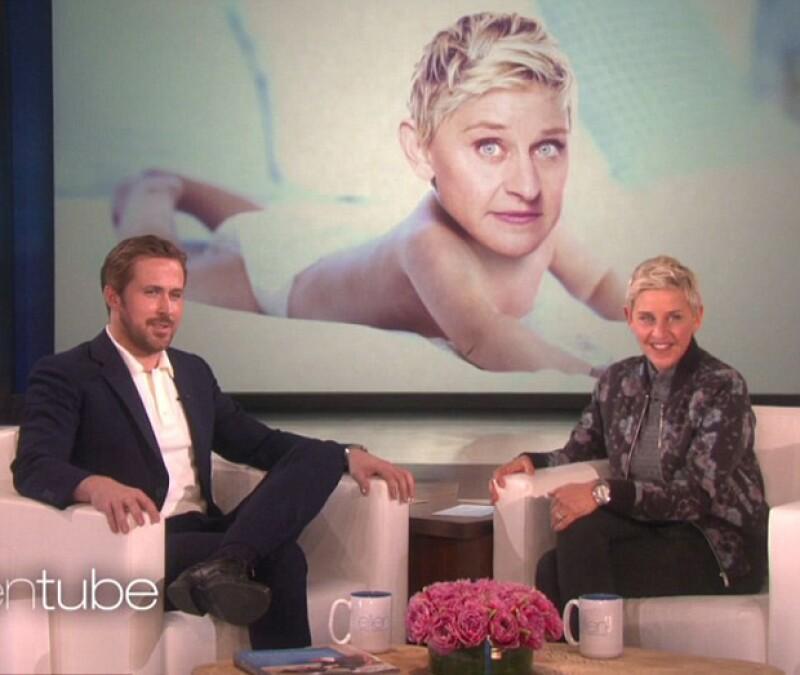 """Con gran sentido del humor tomó Ryan Gosling la """"revelación"""" que hizo la comediante en su programa."""