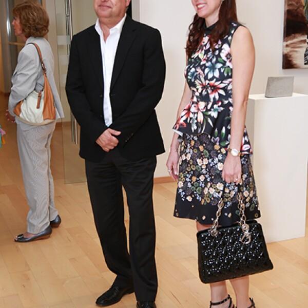 Humberto Garza y Laura Garza