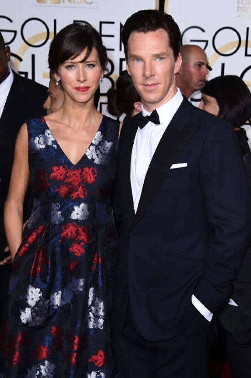 Benedict no se contuvo y le contó la buena nueva a sus padres.